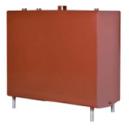 1200 ltr. firkantet C1 (indendørs) m/anode rød