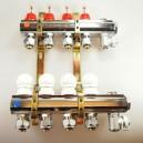 5 kreds Standard fordeler med flowmeter